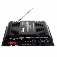 LP-269 4 canales multifuncional FM SD USB reproductor de MP3 de control remoto digital de audio Estéreo mini amplificador de energía del coche