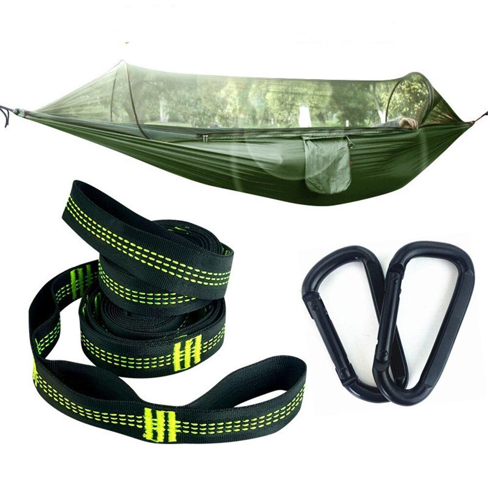 Armée hamac moustiquaire Camping moustique balançoire tente aérienne Parachute tissu ultraléger extérieur chasse moustiquaire