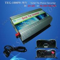 1000 W Système D'énergie Solaire de Cravate de Grille Onduleur, MPPT fonction, utilisation empilable, Sinusoïdale Pure Vague courant de sortie, CE