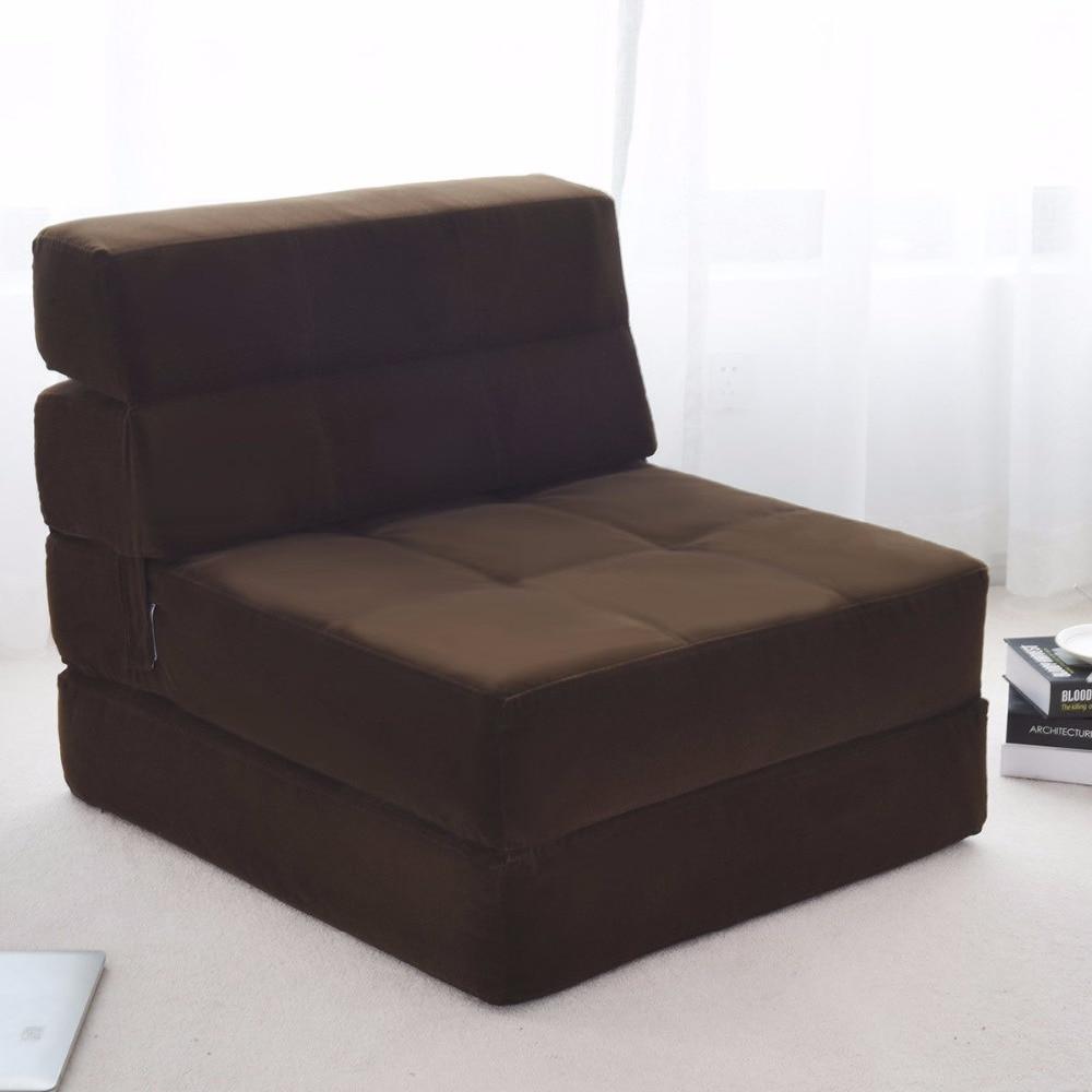 Giantex Tri Fold Down Chair Flip