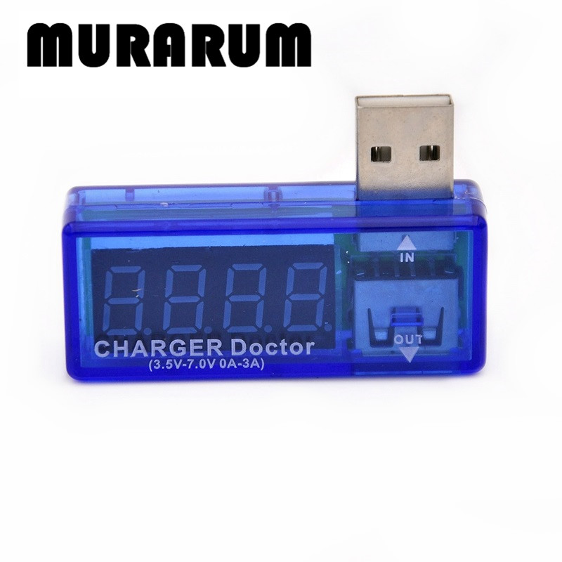 86007 Digital USB Mobile Power charging current voltage Tester Meter Mini USB charger doctor voltmeter ammeter usb current voltage charging detector mobile power current and voltmeter ammeter voltage usb charger tester double row shows h7