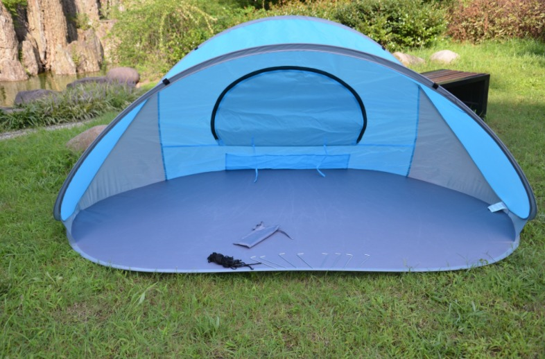 BEACH TENT POP UP UV SUN SHELTER OUTDOOR CAMPING FISHING FESTIVAL TENTS for Kids Beach Baby Family Size Pop Up Shade T-in Tents from Sports u0026 Entertainment ... & BEACH TENT POP UP UV SUN SHELTER OUTDOOR CAMPING FISHING FESTIVAL ...