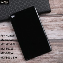 TPU Soft Silicone Tablet Case For Huawei MediaPad M2 M2-801L M2-801W M2-802 M2-803L 8.0 Cover Screen Protective Tablet Cases цена и фото