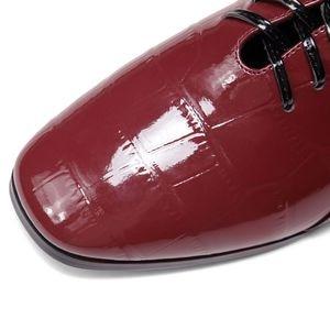 Image 5 - ALLBITEFO naturel en cuir véritable loisirs chaussures à talons hauts mode dames femmes talons décontracté printemps automne fille talons hauts