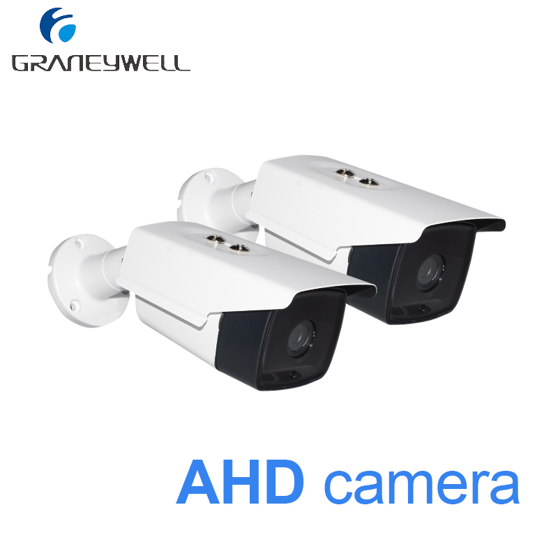 2 PCS 1080p Security Camera 36 IR LEDs Night Vision AHD CCTV 1080p Camera Outdoor Waterproof Bullet Video DVR Surveillance Cam hd 1200tvl 720pccd sensor 36 ir cut outdoor night vision security waterproof bullet camera 16ch ahd dvr recorder surveillance