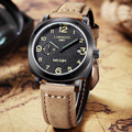 Megir matte leather men luxury Military quartz tag mens watches top brand luxury fashion relogio masculino relojes mujer watch