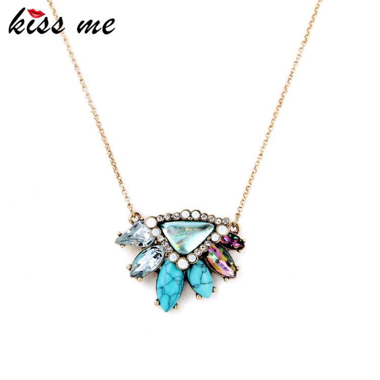 Pendant Necklace New Look Hot Sale Multicolor Perfus