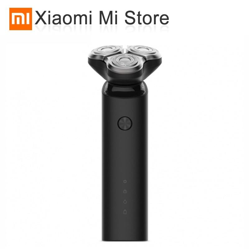 Original Xiaomi Mijia Electric Shaver Flex Razor Head 3 Dry Wet Shaving Washable Main Sub Dual