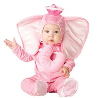 animal elephant Cosplay Costumes Baby animal costumes for Halloween Baby animals perform funny costumes in elephant jumpsuits