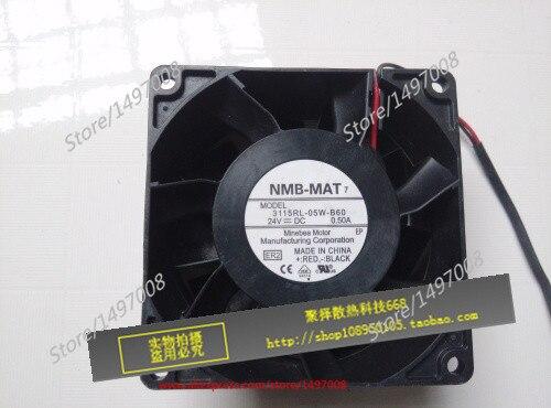 все цены на  Free Shipping For  NMB 3115RL-05W-B60, ER2 DC 24V 0.50A, 80x80x38mm 2-wire 80mm Server Square cooling fan  онлайн