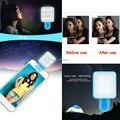 RK10 Autofoto portátil LED Proyector de la lámpara luz de La Noche, Mini Fotografía Flash bombillas LED con el Clip Para La Cámara IOS/Android Smartphone