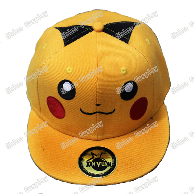 5c88b7e3b Japanese anime Pokemon Pikachu Snapback Caps Adult Hip hop Hats Baseball  Cap for Men Women-in Baseball Caps from Men's Clothing & Accessories