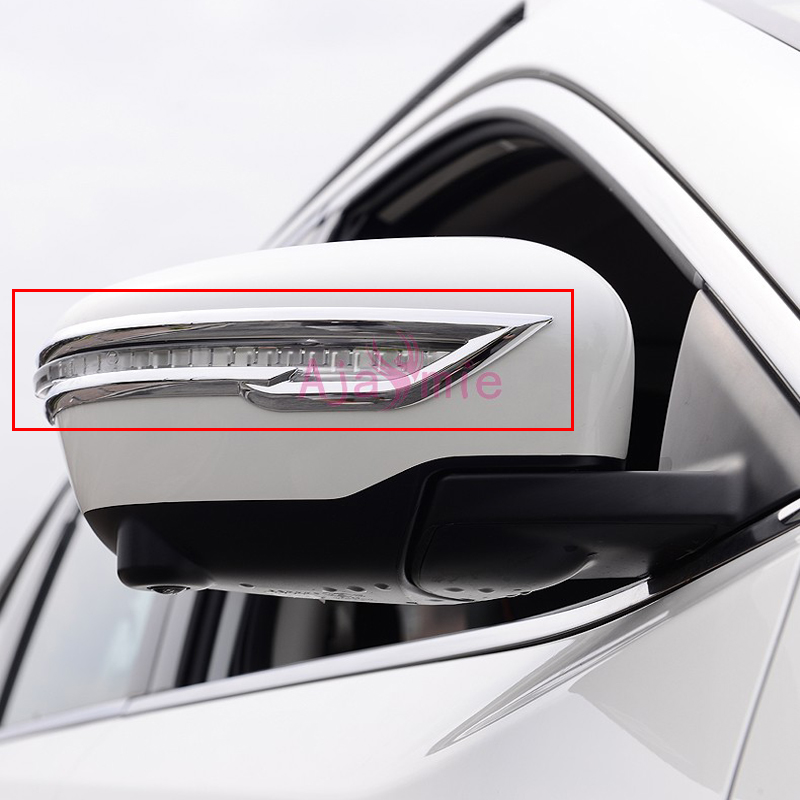 For Nissan Juke Accessories Door Mirror Overlay Trim Rearview Cover 2014 2015 2016 2017 2018 Chrome Detector Car Styling