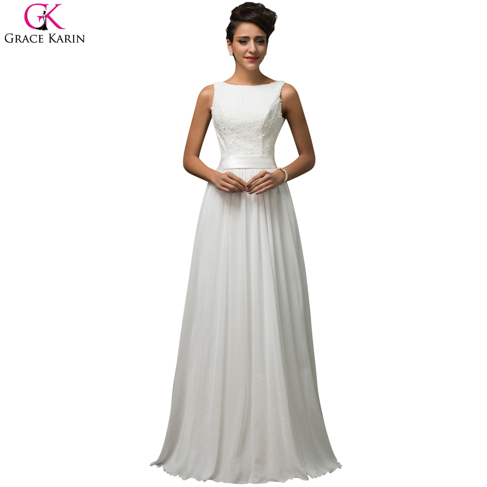 Cheap long evening dresses designer fashion grace karin Designer clothes discounted