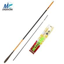 JIADIAONI New 2.7m 3.6m 4.5m 5.4m 6.3m TaiWan Fishing Rod Stream Fishing Rod Combo With Fishing Float Combo Boat Fishing Tackle