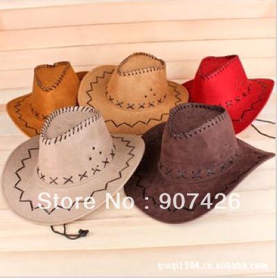 Free shipping wholesale More color Cowboy hat 100pcs/lot