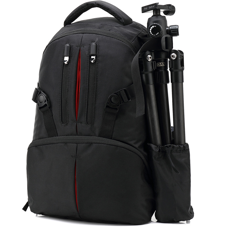 Professional Waterproof Shockproof Digital Product Double Shoulder Backpack Large Capacity <font><b>Photography</b></font> Camera Support Bag