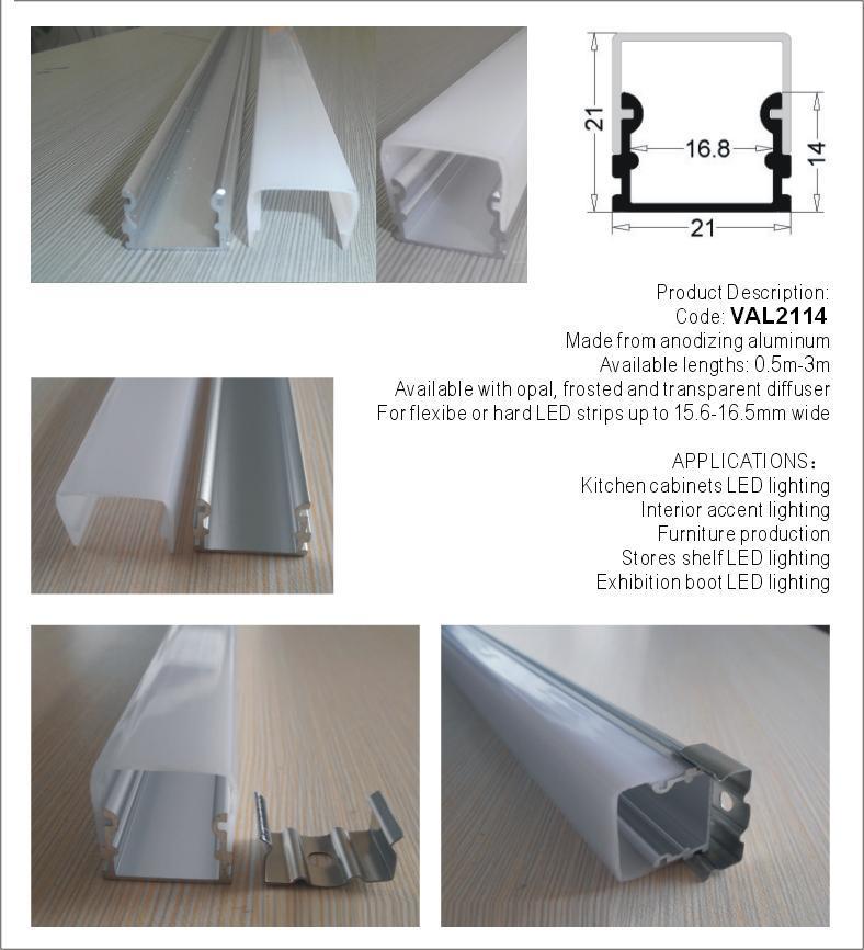 Diffuser LED Zolaq İşıqlandırma 1 m uzunluğunda Pulsuz - İşıqlandırma aksesuarları - Fotoqrafiya 4