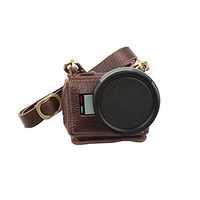 SHOOT Multifunctional Leather Clip On Sports Camera Protective Case With Lens Cover For Gopro Hero 5