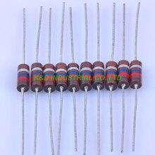 10pcs Carbon Composition vintage Resistor 0.5W 12M ohm 5 % 10pcs carbon composition vintage resistor 0 5w 2 2m ohm 5