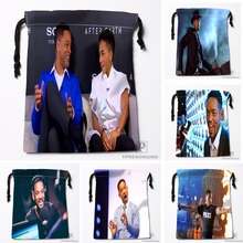 Custom Will Smith Drawstring Bags Printing Travel Storage Mini Pouch Swim Hiking Toy Bag Size 18x22cm#180412-11-39