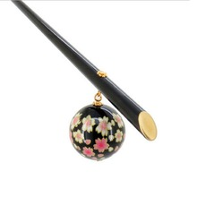 Elegant Acrylic Sakura Hair Stick Japanese Kanzashi Geisha Hair Jewelry Accessories Kimono Headdress for Women Wedding Gift