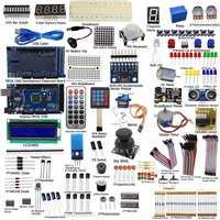 New DIY Electric Unit Ultimate Starter Kit for Arduino MEGA 2560 1602 LCD Servo Motor LED Relay RTC Electronic kit