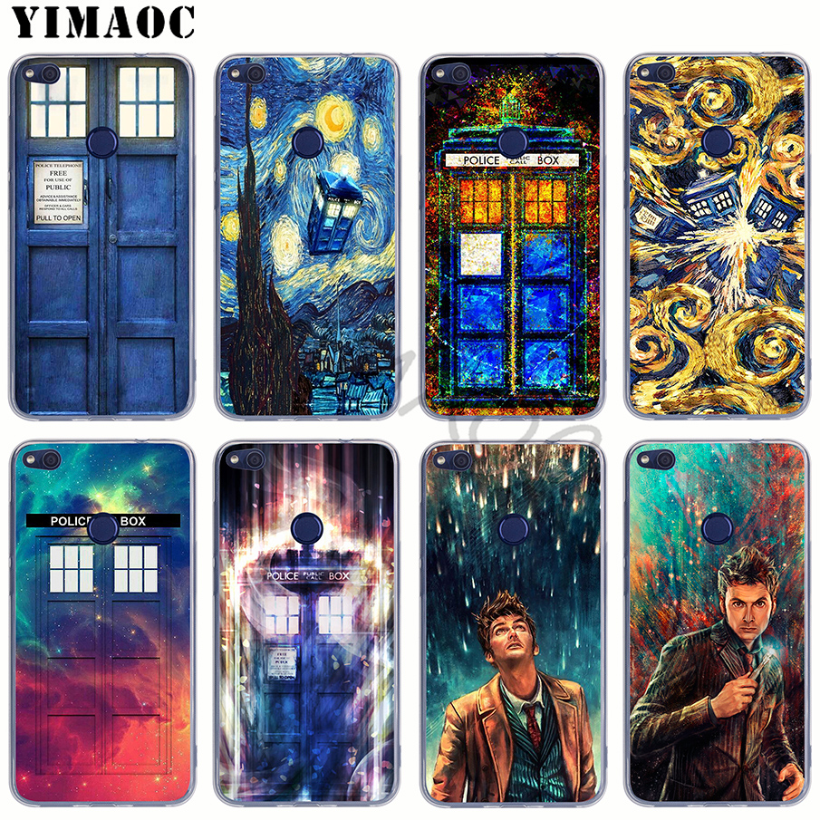 Half-wrapped Case 54we Box Doctor Who Soft Silicone Tpu Cover Phone Case For Xiaomi Redmi 6 5a 6a 5plus Note 5 6 5a Pro