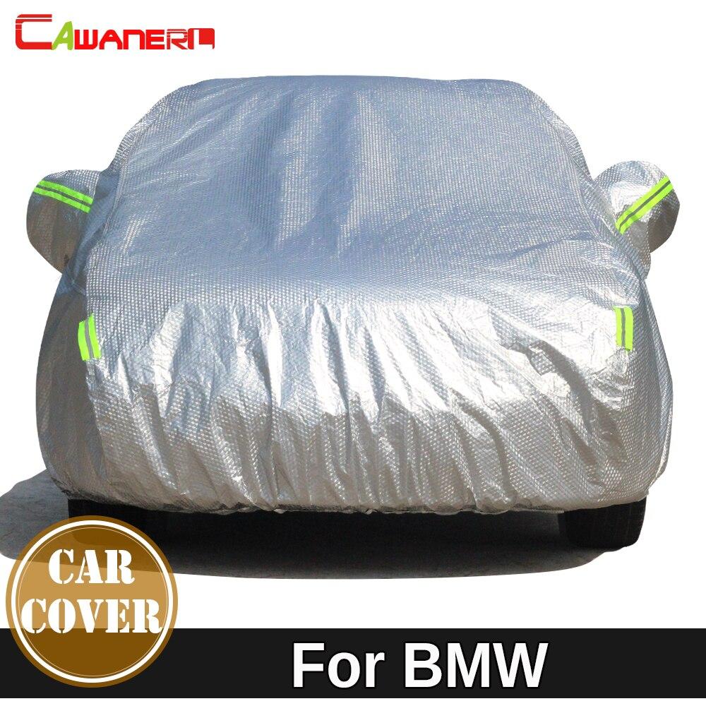 Cawanerl Étanche Épaissir Couverture De Voiture Soleil Neige Pluie Résistant Couverture Pour BMW X1 X3 X4 X5 X5M E84 F48 F49 f39 F25 G01 F26 G02 E53