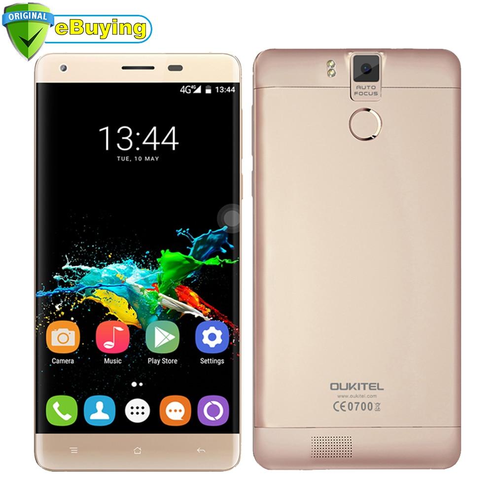 bilder für Oukitel K6000 Pro Android 6.0 Smartphone 6000 mAh Batterie MTK6753 Octa Core 5,5 zoll Bildschirm 3 GB RAM 32 GB ROM 13MP 4G Mobile telefon