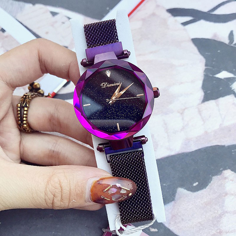 New Luxury Mesh Stainless Steel Watches Women Top Brand Rose Gold Casual Clock Ladies Wrist Watch Relogio Feminino For Women