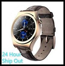 2016X10 Satt Abgerundete Smart Uhr Suppors tHeart Rate Monitor Bluetooth 4,0 Echt Leder Smartwatch Unterstützt Arabisch Türkisch