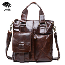 Genuine Leather Bags Men Messenger Bags Business Tote Men's Shoulder Crossbody Bags Travel Laptop Bags Male Briefcase Handbags
