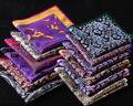 Рд пейсли цветочный платок 100% природный шелковый атлас мужская ханки мода классические свадебные ну вечеринку карманный площадь
