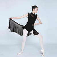 Adult Ballet Dance Leotard Black Sleevless Ballet Dance Costume Stage Dancing Costume Ballet Gymnastics Leotards For