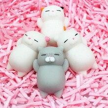 Милые squeeze Cat шутки подарок мягкими Cat Исцеление Vent ball фигурку украшения игрушки Мягкий Робот куклы отдохнуть стресса