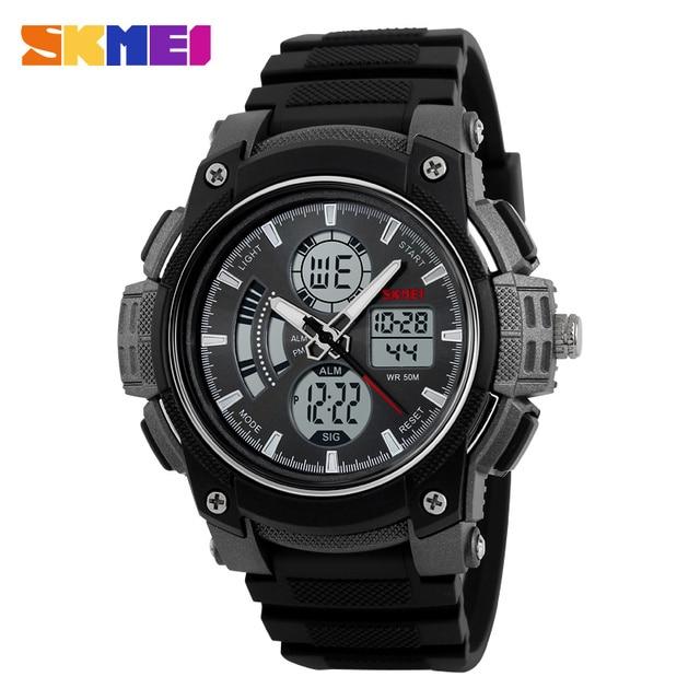 SKMEI 1192 Fashion Men Waterproof Atomatic Sport Wristwatch Luxury Mens Military Army Digital Clock Top Quality Datejust Watch