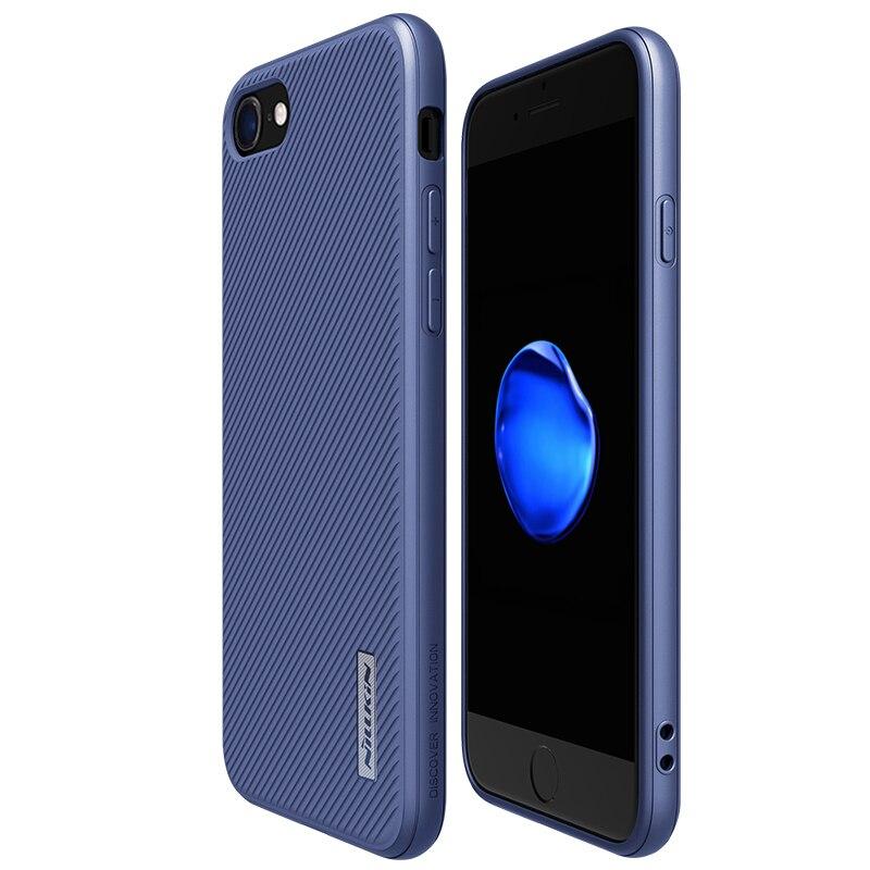 Цена за NILLKIN Роскошные простой телефон Чехлы для iPhone 7/7 плюс тонкий чехол Корпуса Полный задняя крышка для Apple Iphone 7 Чехол контактный проверьте 7