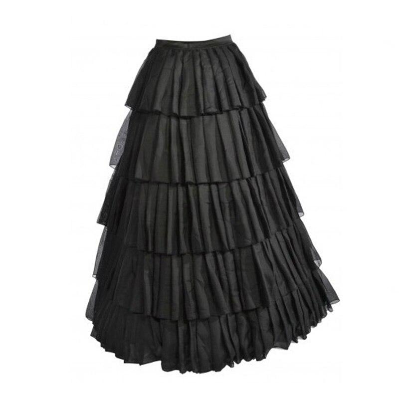 Formal Chic Hot Black Floor Length Long Skirts For Women ...