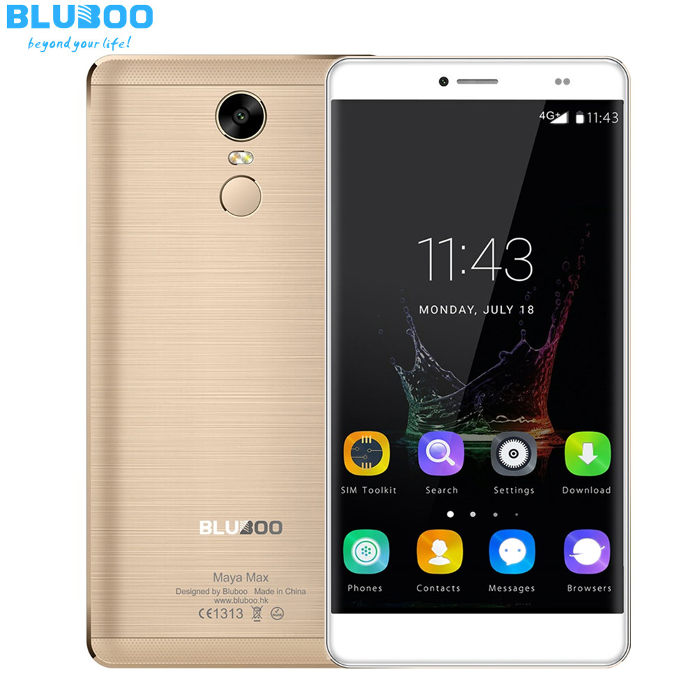 Bluboo Maya Max 6 ''Smartphone Android 6.0 MTK6750 Octa Core 4G LTE Teléfono Móv