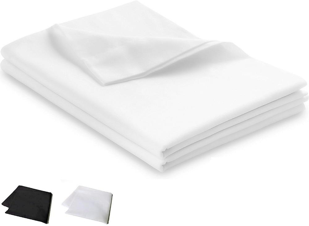 New Super Soft Plain White Or Black Pillow Cover Cases Bed