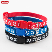 Hipidog Pet Collar Adjustable Dog With Buckle Puppy Supplies Collars For Small Dogs Cats Chihuahua Teddy