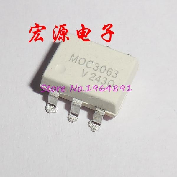 10pcs/lot MOC3063 MOC3063 SOP-6 In Stock