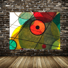 100% Hand painted Canvas Painting Wassily Kandinsky Geometric Oil Abstract Wall Art For Living Room Home Decor