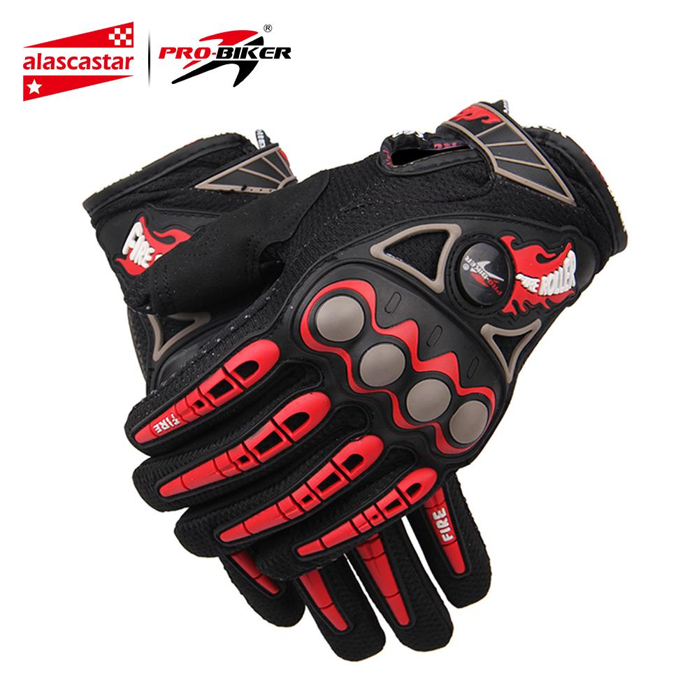 PRO-BIKER Motorcycle Racing Hansker Breathable Enduro Dirt Bike Moto Guantes Luvas Off Road Motocross Motorsykkel Riding Hansker