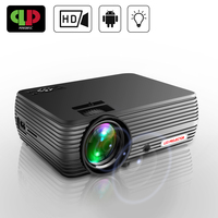 Powerful MINI Projector X5 Full HD Lcd Mini LED Cinema Video Digital HD Home Theater Projector Beamer Proyector with USB HDMI