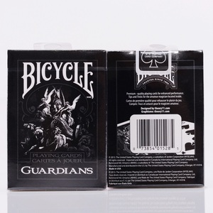 Bicycle Guardians Playing Cards By Theory11 Black Magic Cardistry Deck Guardian Magic Tricks Magic Props