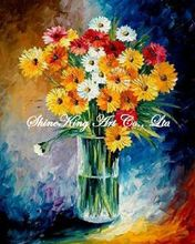 palette knife oil painting  modern oil painting canvas oil painting  K651