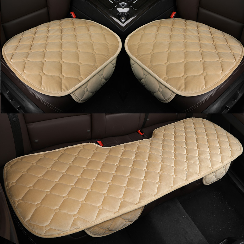 2x Summer Ice Silk Mesh Car Front Seat Cover Cushion Home Office Chair Cool Seat