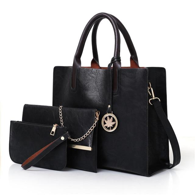 3 Pcs/set Handbags Women...